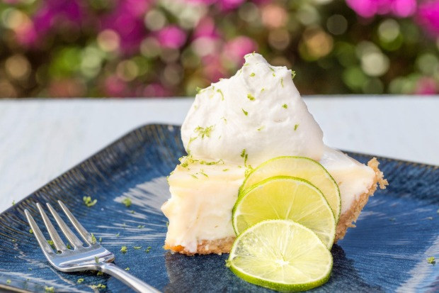 KEY WEST, US: key lime is a hybrid take on a lime originally native to Southeast Asia, but it grew prodigiously in the ...