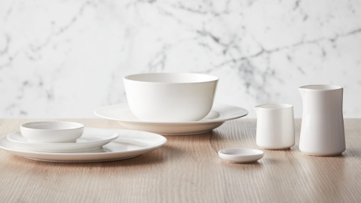 New crockery introduced by Qantas last year helped the airline reduce weight on flights.