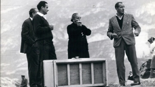 The tragedy of the Vajont dam disaster.