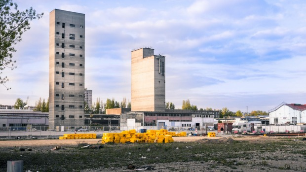 Berlin's industrial areas are shabby and unloved.