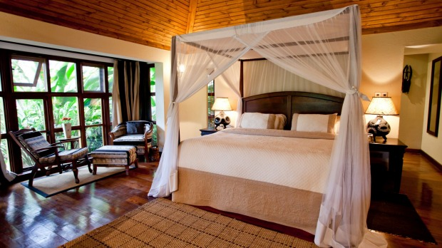 A room at Legendary Lodge, Arusha, Tanzania.