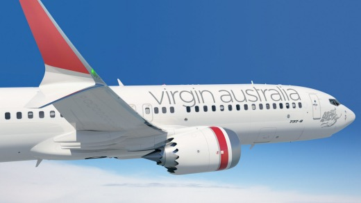 Virgin Australia has ordered 40 of the Boeing 737 MAX jet.
