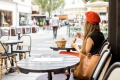 Tipping point: a Paris cafe.