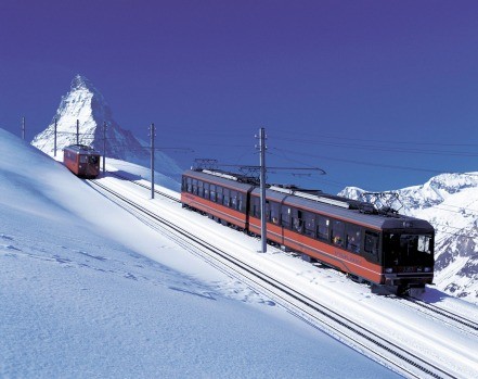 MOUNTAIN RAILWAYS: Though some rack railways close in the winter, many stay open, offering exhilarating rides to the ...