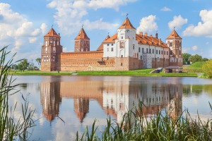Mir Castle is your quintessential Rapunzel-style fortress.