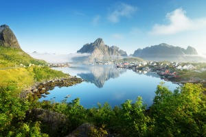 Surely the Lofoten Islands demonstrate that god must be a minimalist Nordic designer with a liking for chilly beauty and ...