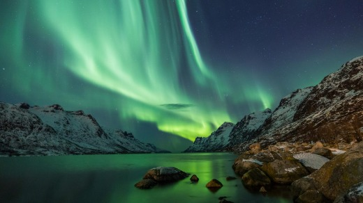 Viking's newly launched winter cruises, however, now provide the opportunity to view the Northern Lights.