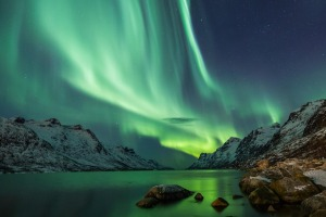 Go in search of the Northern Lights in Norway.