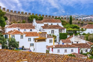The town of Obidos, which is a UNESCO Creative City of Literature.