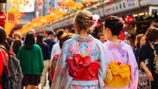 The Japanese government says it wants to attract 40 million visitors by 2020.