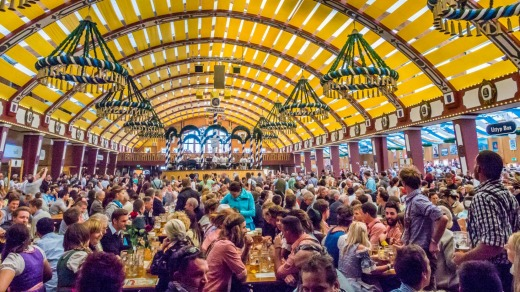 The ultimate beer celebration is Munich's Oktoberfest, one of the world's largest festivals.