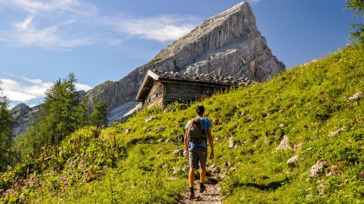 Bavaria offers 300 kilometres of well-marked hiking tracks.
