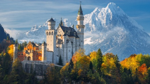Neuschwanstein is the epitome of a fantasy castle.
