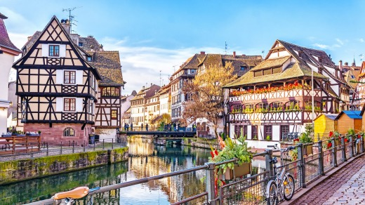 Strasbourg in France started out in 12BC as a Roman encampment called Argentoratum.