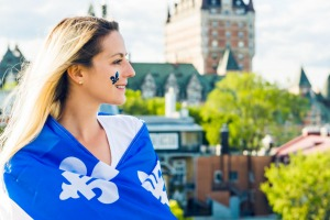 Half of Quebec's population lives in Quebec City and Montreal.