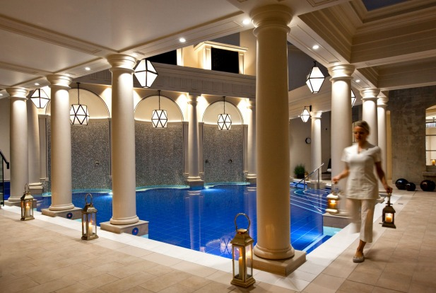 ATRIUM POOL OF THE GAINSBOROUGH BATH SPA, BRITAIN Occupying a handsome honey-stone former hospital, this is the only ...