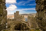 Conwy Castle, Snowdonia: If Caernarfon Castle was all bulk and power, Edward I's other effort in Conwy is remarkably ...