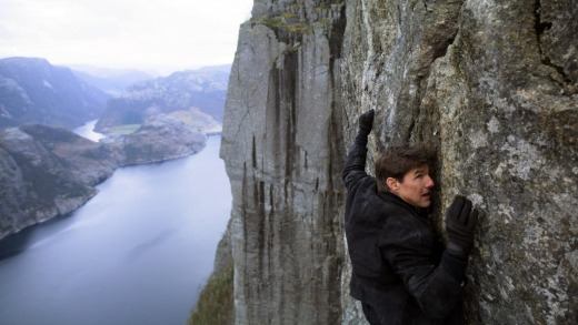 The previous film in the series, Mission Impossible: Fallout, also filmed in Norway.