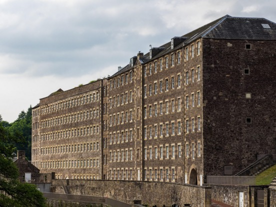 New Lanark, Scotland: The Industrial Revolution didn't just cause factories and mills to crop up – it spurred the ...