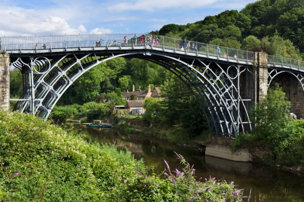 Ironbridge Gorge, England: In otherwise sleepy Shropshire is the gorge over the River Severn where the Industrial ...