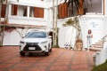 A Lexus hybrid SUV is on hand for guests'   transfers and trips out of town.