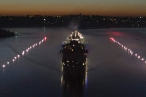 Majestic Princess arrives in Australia sailing a floating 'runway' in Sydney.