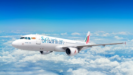 SriLankan Airlines Airbus A320.