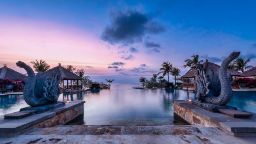 Ayana is Bali's biggest resort with 775 rooms and suites over three properties on 90 clifftop hectares perched above the ...