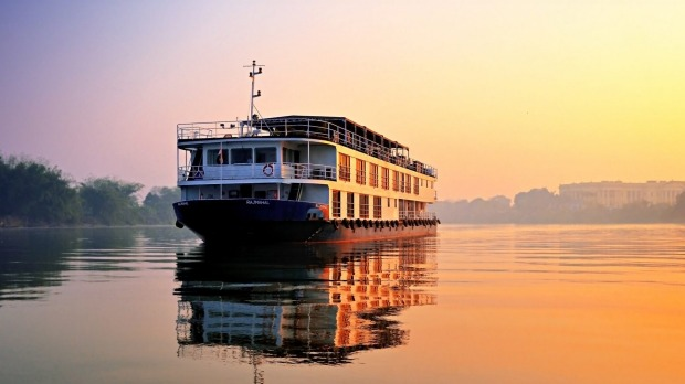 Travelmarvel's RV Rajmahal on the Ganges River.