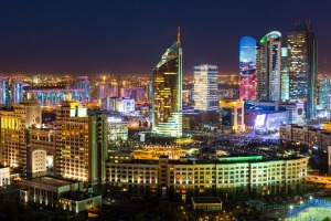 The capital formerly known as Astana.