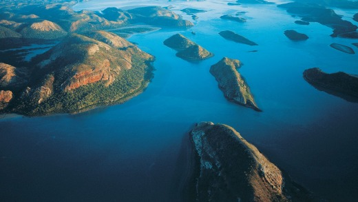 Spectacular Talbot Bay in the Kimberley.