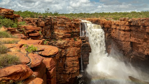 King George Falls, the Kimberley.