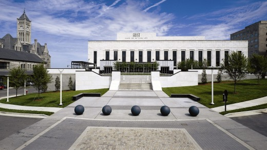 The Frist Art Museum, housed within a stunning art deco building that was once the city's main post office.