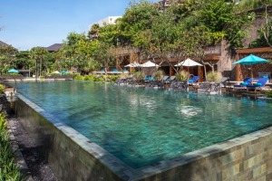 When it's time to cool down, hotel guests can choose from three sprawling pools.