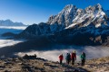 For most trekkers, the ascent of Gokyo Ri is the literal high point of their journey.