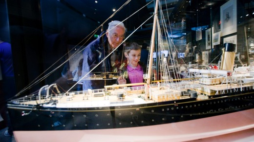 Once inside, don't expect the exhibits to dwell on the parts of the Titanic story you already know.
