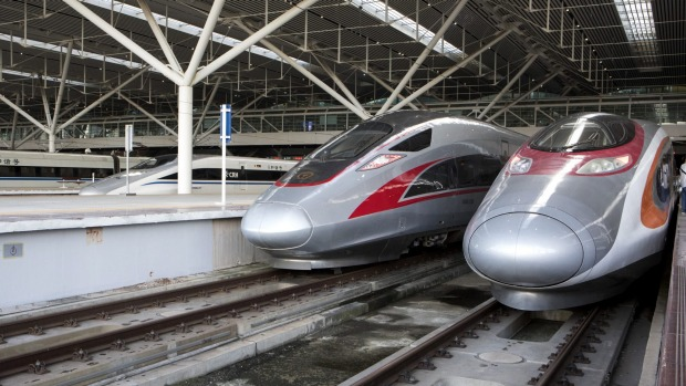 The new rail link provides direct access to China's massive 25,000-km national high-speed rail network from Hong Kong.