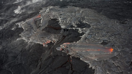 Lava Flow from Puuoo.