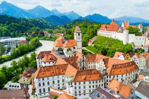 Factor time in Fussen into your castle-hopping Bavarian itinerary, because it's a treat.