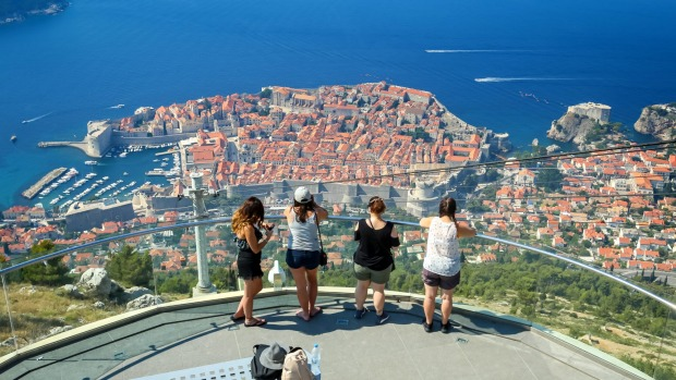 More than 800,000 tourists visited Dubrovnik since the start of the year, a 6 per cent increase from the same period ...