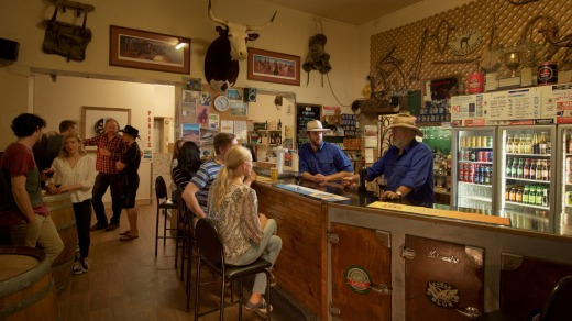 The Marree Hotel in South Australia.