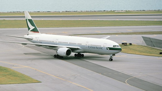 Cathay Pacific took delivery of the aircraft, line number WA001, in 2000.