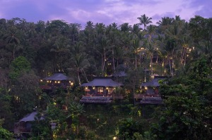 The Bill Bensley-designed jungle retreat, Capella Ubud.