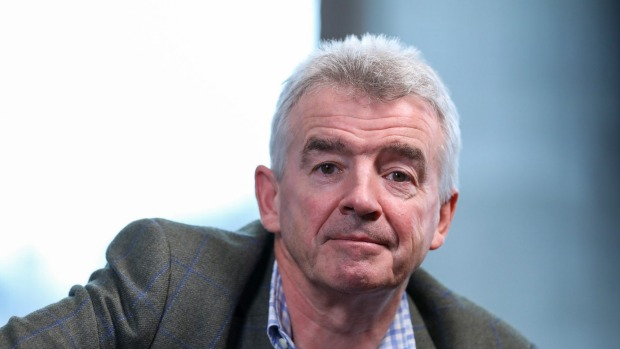 Michael O'Leary, chief executive officer of Ryanair.