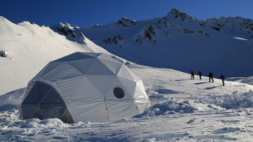 Built for ski tourers in the winter and bushwalkers in the summer, the camp is in the McKerrow Range, well above the ...