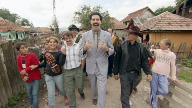 Sacha Baron Cohen upset the Kazakhs with his portrayal of the country in Borat.