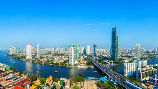 With more than 20 million visitors, Bangkok is still number one.