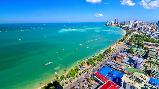 Pattaya in Thailand has benefited from an overall increase in visitor numbers to the country.