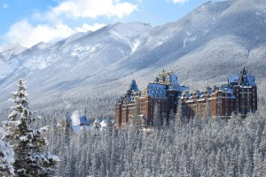 The Banff Springs Hotel in Canada.
