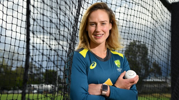 Cricketer Ellyse Perry.